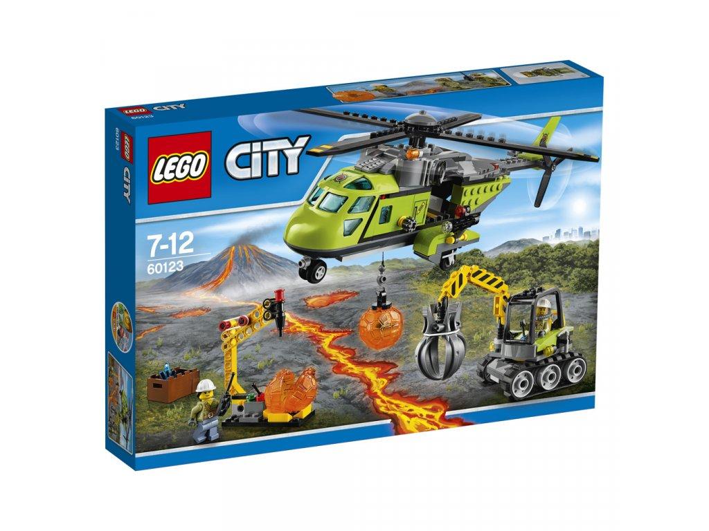 LEGO® City Sopečná zásobovací helikoptéra