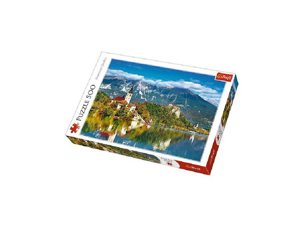 Puzzle Bled, Slovinsko 500 dílků