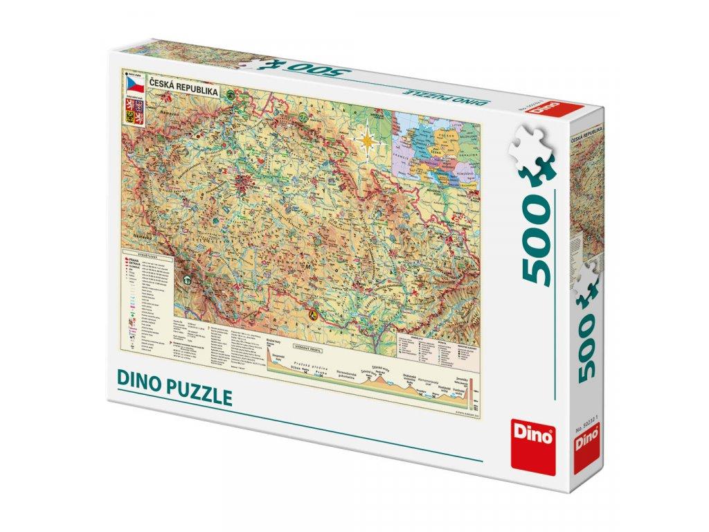 puzzle mapa Ceske reubliky