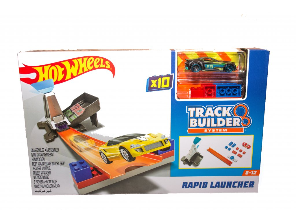 Hot Wheels Track Builder Rapid Launcher