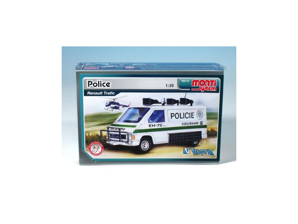 MS 27 Policie Renault Trafic
