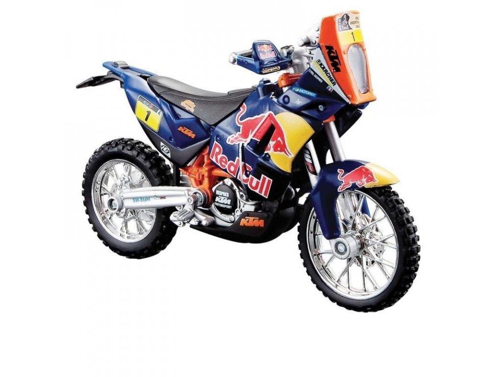Motorka Bburago KTM 450 Red Bull