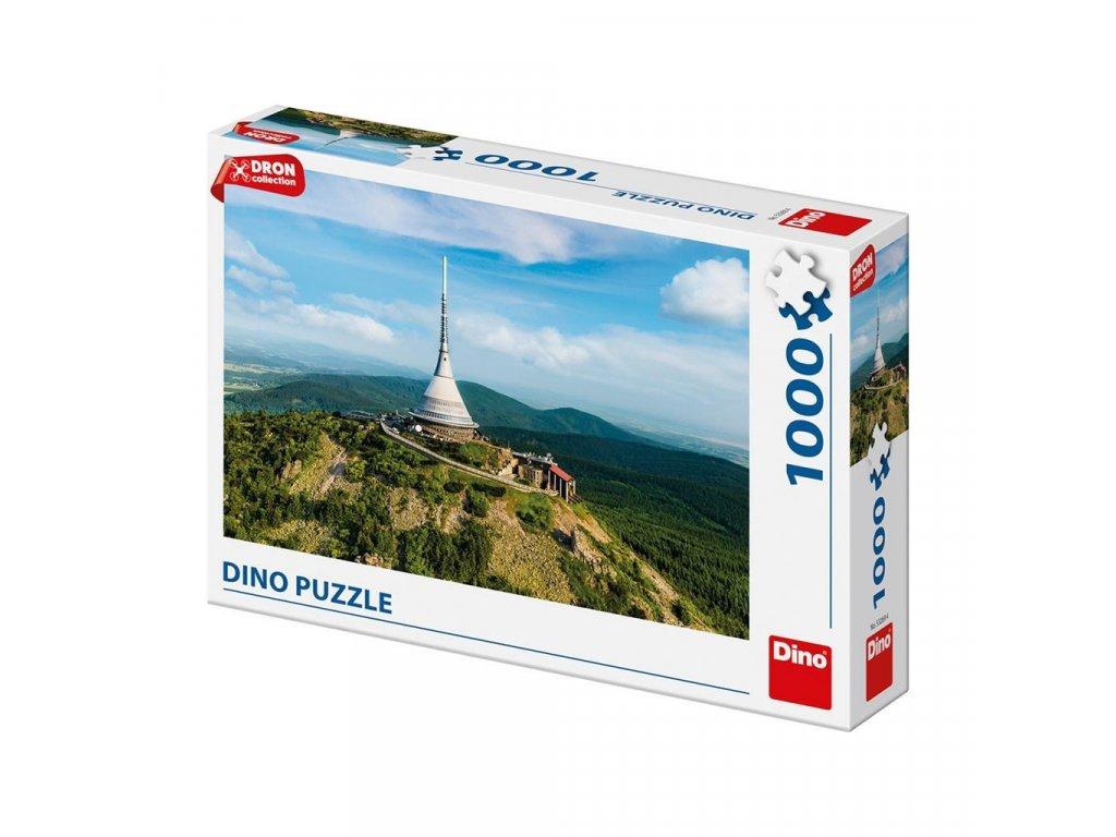 Puzzle 1000 dílků Ještěd dron collection