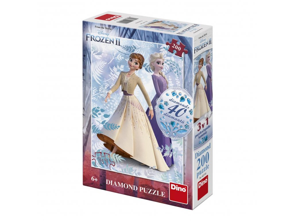 Frozen II 200 Diamond puzzle