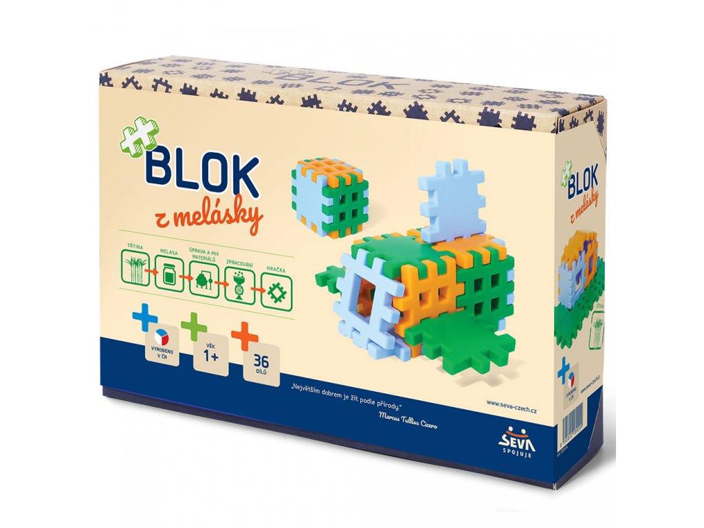 Stavebnice Blok z melasky