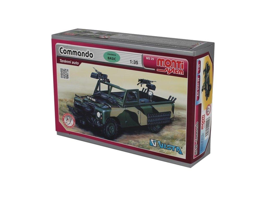 MS 29 - Commando Land Rover