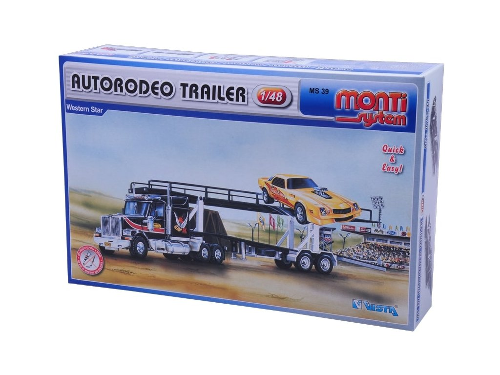 MS 39 - Autorodeo trailer