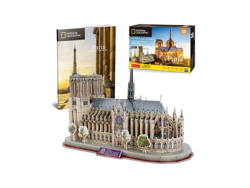 Puzzle 3D NG Notre Dame