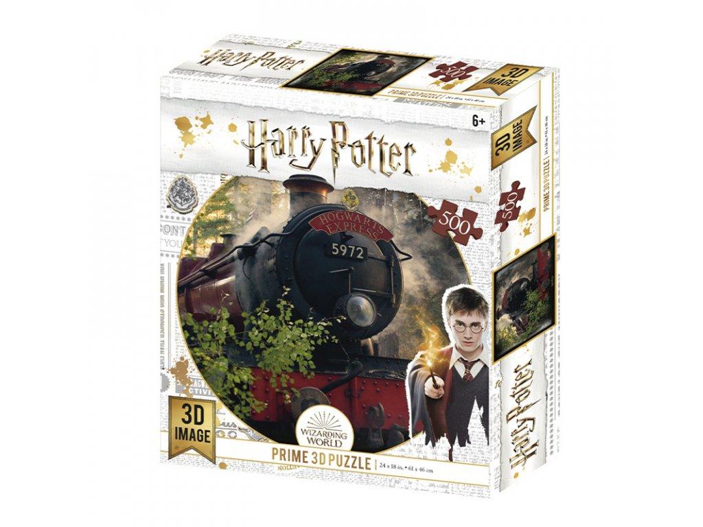 Puzzle 3D Harry Potter The Hogwarts Express 500 dílků
