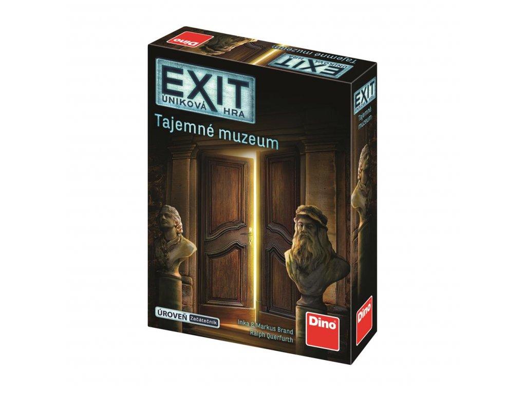 Hra EXIT tajemne muzeum