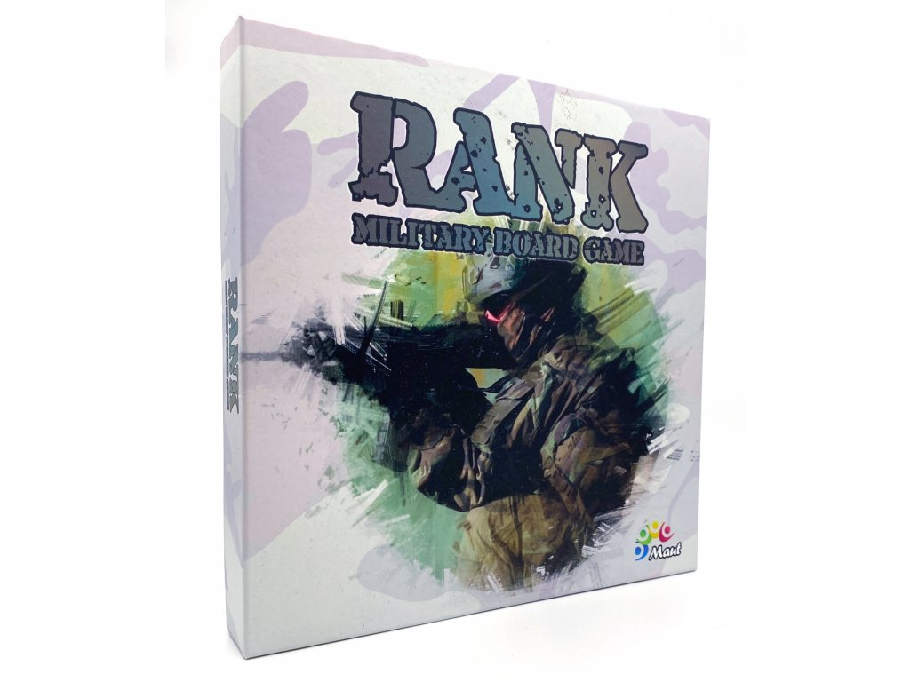 RANK Military board game 1