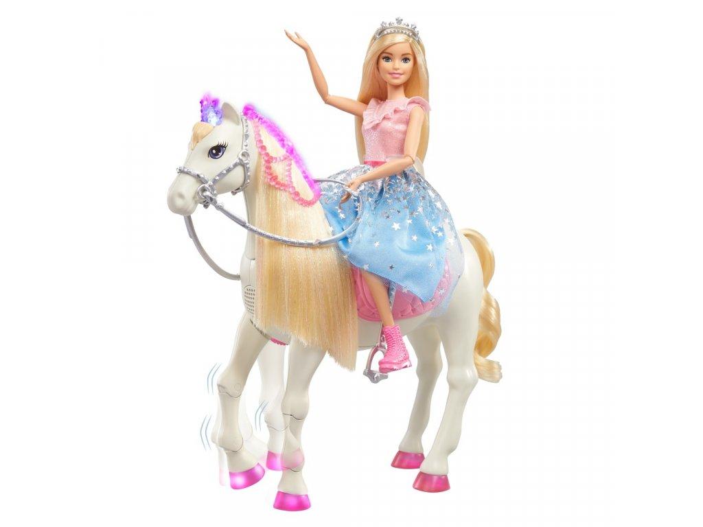 Barbie princezna a kůň se světly a zvuky
