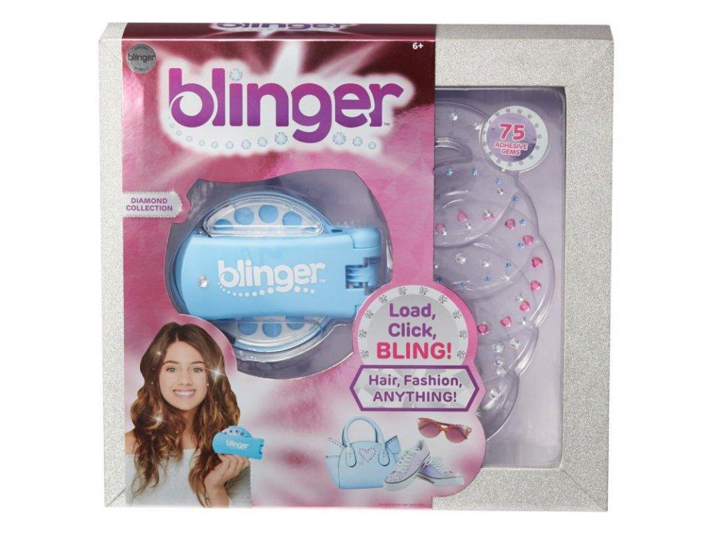 Blinger Diamantová kolekce tyrkysová