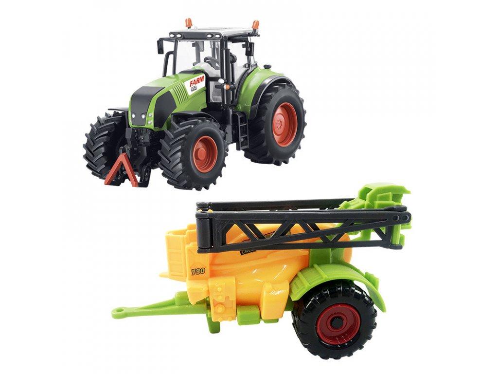 traktor se zavesnym postrikovacem