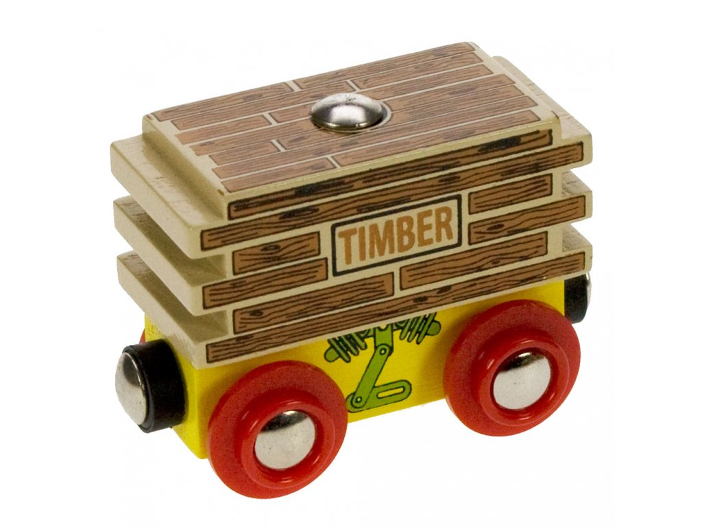 Vagon se dřevem - 70404