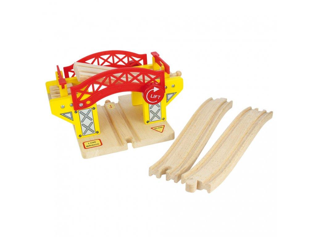 Zvedací most  - Bigjigs 70189