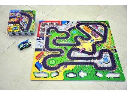 Pěnové puzzle Závodní dráha