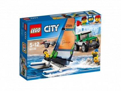 LEGO® City 4x4 s katamaránem