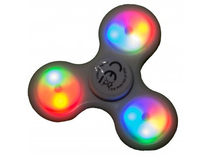 Spinner Crazy Gyro světelný