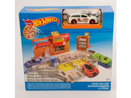Hot Wheels set městem na kolech - pizzeria