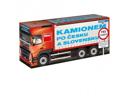 kamionem po Cesku a Slovensku