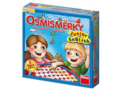 osmismerky Junior english