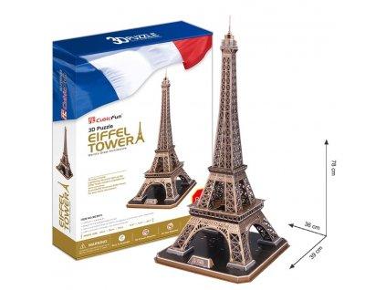 3D Puzzle Eiffelova vez