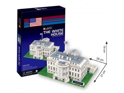 3D puzzle Bily dum