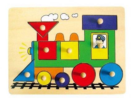 vkladacka lokomotiva