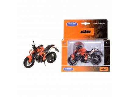 Motorka Welly KTM Super Duke R