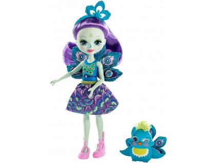 Enchantimals panenka se zvířátkem