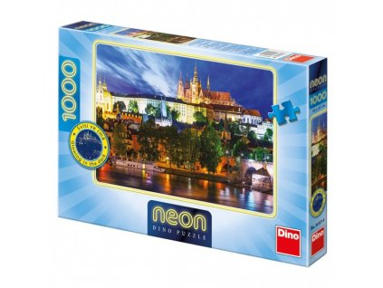 Puzzle Letní noc v Praze 1000 dílků