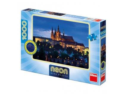 Večerní Praha 1000 neon Puzzle