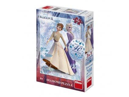 Frozen II 200 Diamond puzzle