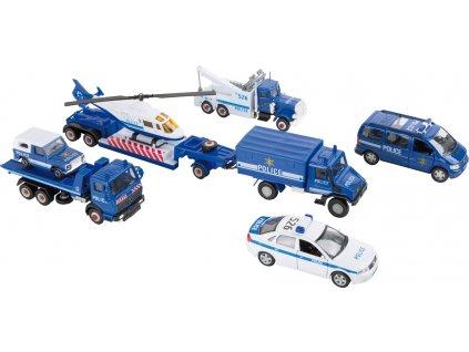 8586 Spielset Polizeifahrzeuge b