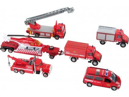8589 Spielset Feuerwehrfahrzeuge b