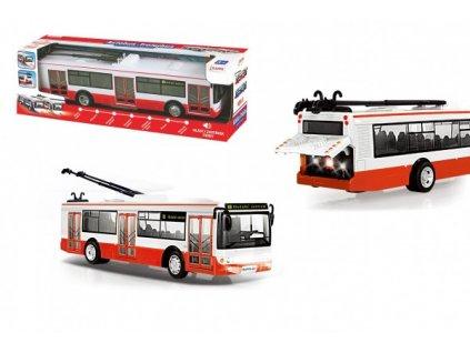 Červený trolejbus česky mluvící