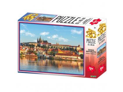 Puzzle 3D Praha Hradčany 300 dílků