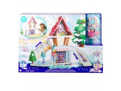 Enchantimals horská chatka herní set