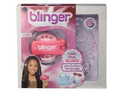 Blinger Diamantová kolekce růžová