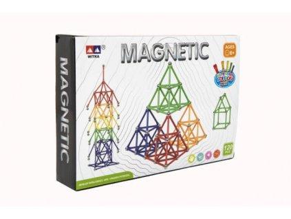 Magnetická stavebnice 120 ks