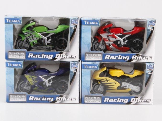 Závodní motorka 1:18