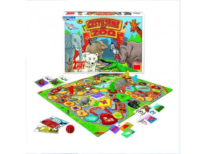 Hra Cestujeme po Zoo