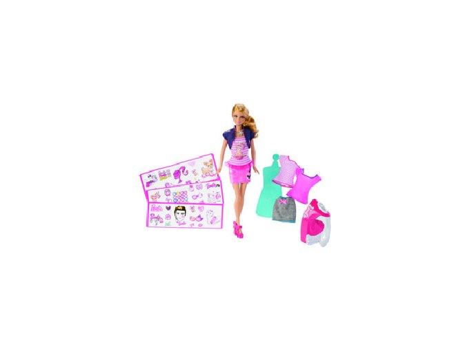 Barbie tričková móda