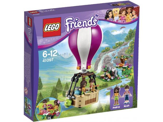 LEGO® Friends Horkovzdušný balón v Heartlake