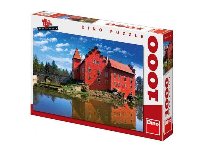 Puzzle Zámek Červená Lhota 1000 dílků