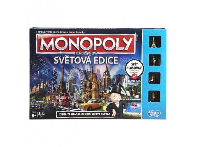 Monopoly Here and now světová edice