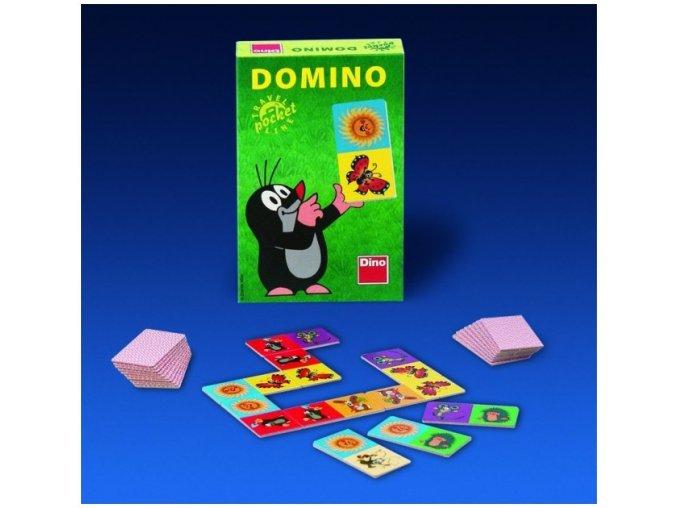 Domino s krtečkem kapesní