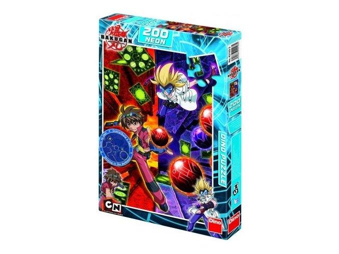 Puzzle Bakugan - Attack St Line 200 dílků