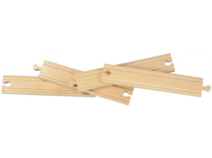 20cm rovné koleje - 4kusy - Maxim 50903